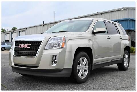 2014 GMC Terrain for sale at STRICKLAND AUTO GROUP INC in Ahoskie NC