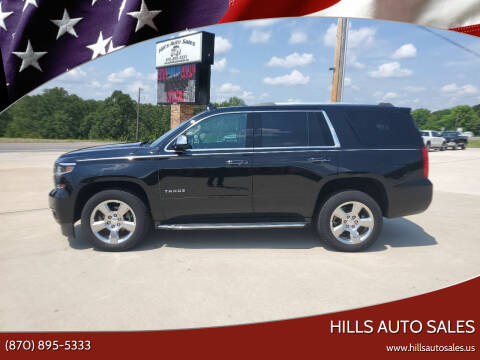 2017 Chevrolet Tahoe for sale at Hills Auto Sales in Salem AR
