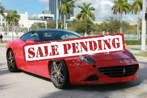 2016 Ferrari California T for sale at ELITE MOTOR CARS OF MIAMI in Miami FL