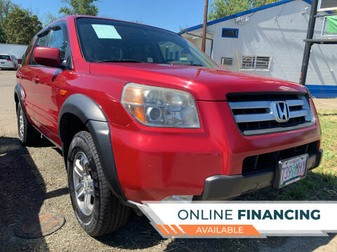 2006 Honda Pilot for sale at City Center Cars and Trucks in Roseburg OR