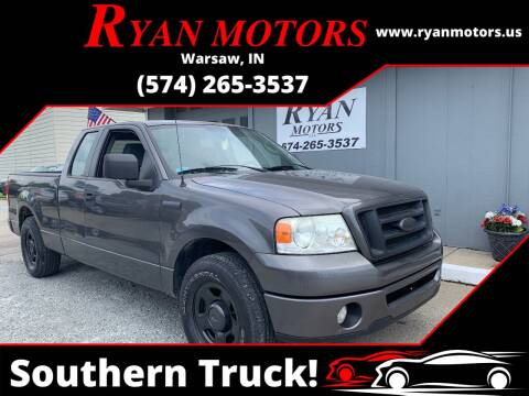 2007 Ford F-150 for sale at Ryan Motors LLC in Warsaw IN