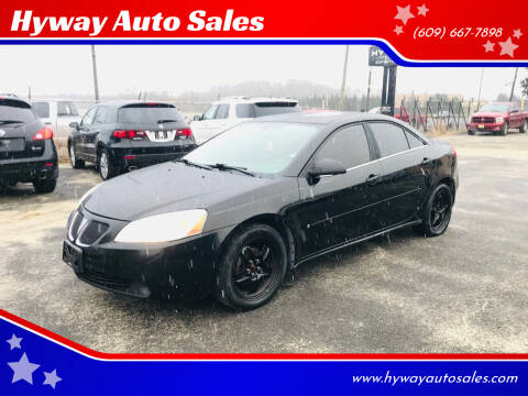 2007 Pontiac G6 for sale at Hyway Auto Sales in Lumberton NJ