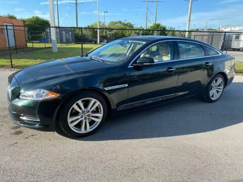 2011 Jaguar XJL for sale at Ultimate Dream Cars in Wellington FL