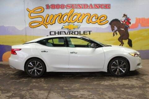 2017 Nissan Maxima for sale at Sundance Chevrolet in Grand Ledge MI