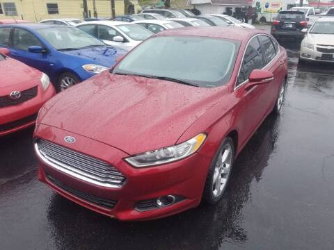 2014 Ford Fusion for sale at Nonstop Motors in Indianapolis IN