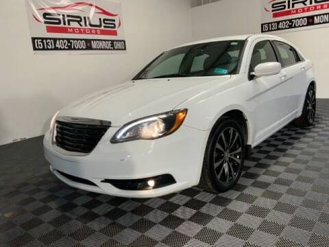 2012 Chrysler 200 for sale at SIRIUS MOTORS INC in Monroe OH