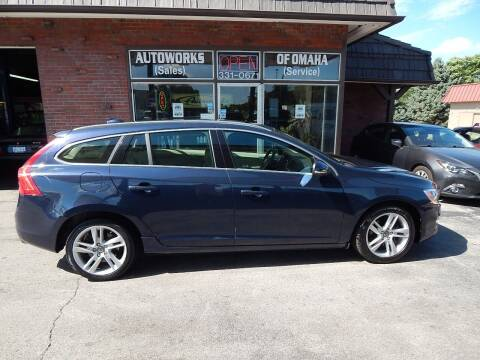 2015 Volvo V60 for sale at AUTOWORKS OF OMAHA INC in Omaha NE