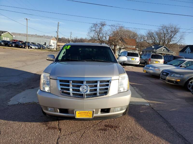 2008 Cadillac Escalade ESV for sale at Brothers Used Cars Inc in Sioux City IA