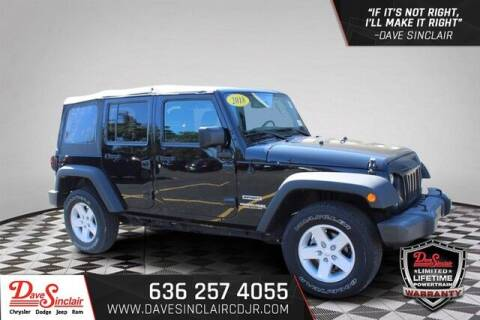 2018 Jeep Wrangler JK Unlimited for sale at Dave Sinclair Chrysler Dodge Jeep Ram in Pacific MO