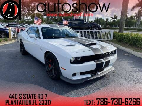 2017 Dodge Challenger for sale at AUTOSHOW SALES & SERVICE in Plantation FL