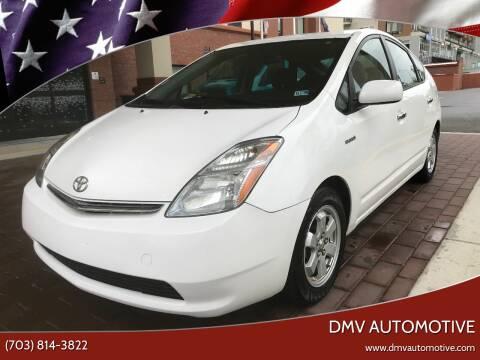 2008 Toyota Prius for sale at DMV Automotive in Falls Church VA