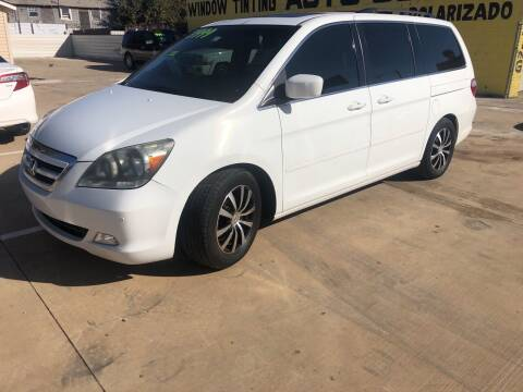2005 Honda Odyssey for sale at D & M Vehicle LLC in Oklahoma City OK