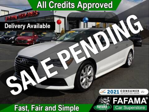 2018 Audi A6 for sale at FAFAMA AUTO SALES Inc in Milford MA