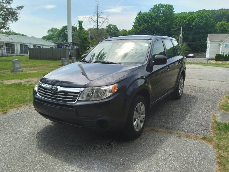 2010 Subaru Forester for sale at Cammisa's Garage Inc in Shelton CT
