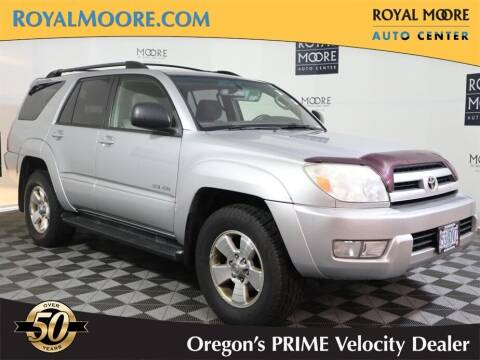 2004 Toyota 4Runner for sale at Royal Moore Custom Finance in Hillsboro OR