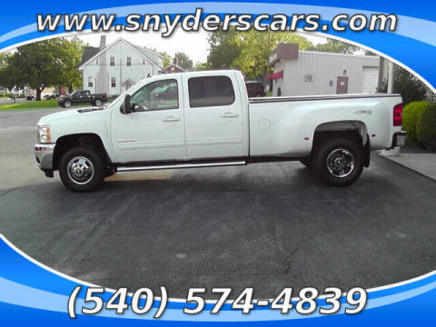 2011 Chevrolet Silverado 3500HD for sale at Snyders Auto Sales in Harrisonburg VA