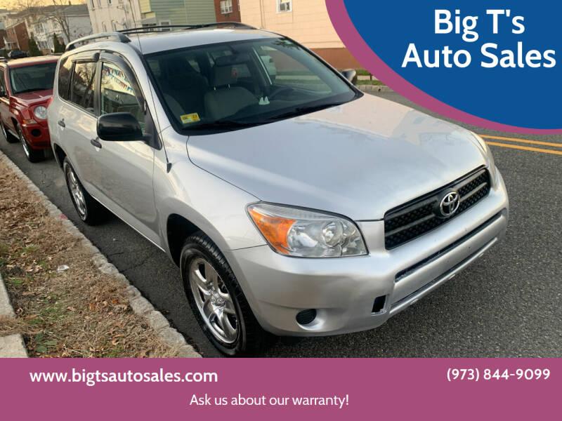 2008 Toyota RAV4 for sale at Big T's Auto Sales in Belleville NJ