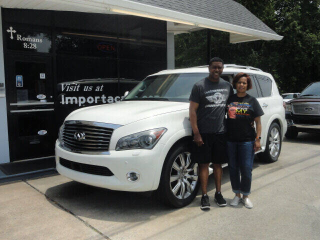 2014 Infiniti QX80 for sale at importacar in Madison NC