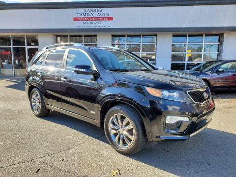 2011 Kia Sorento for sale at Landes Family Auto Sales in Attleboro MA