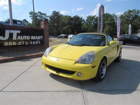 2003 Toyota MR2 Spyder for sale at J T Auto Group in Sanford NC