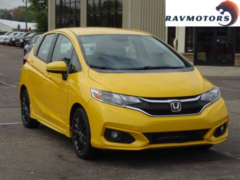 2018 Honda Fit for sale at RAVMOTORS 2 in Crystal MN