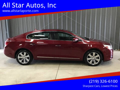 2011 Buick LaCrosse for sale at All Star Autos, Inc in La Porte IN