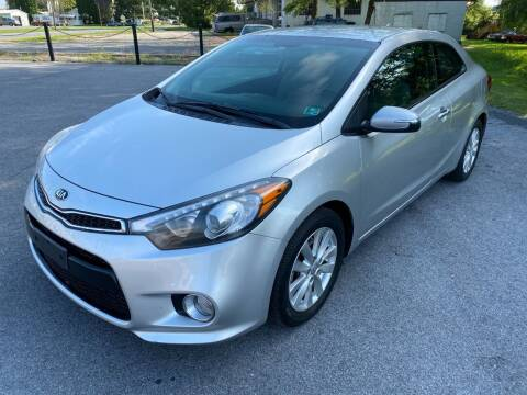 2015 Kia Forte Koup for sale at M4 Motorsports in Kutztown PA