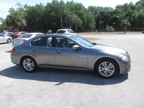 2010 Infiniti G37 Sedan for sale at Orlando Auto Motors INC in Orlando FL
