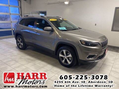 2019 Jeep Cherokee for sale at Harr's Redfield Ford in Redfield SD