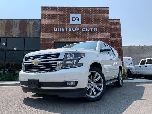 2015 Chevrolet Tahoe for sale at Dastrup Auto in Lindon UT