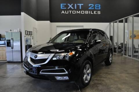2012 Acura MDX for sale at Exit 28 Auto Center LLC in Cornelius NC