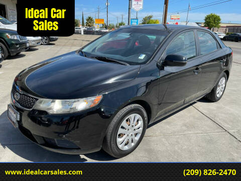2012 Kia Forte for sale at Ideal Car Sales in Los Banos CA