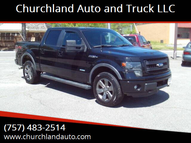 2013 Ford F-150 for sale at Churchland Auto and Truck LLC in Portsmouth VA