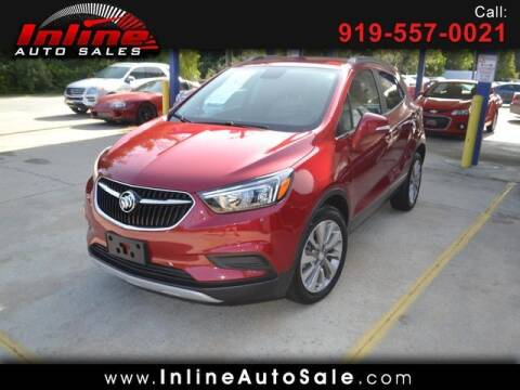 2019 Buick Encore for sale at Inline Auto Sales in Fuquay Varina NC