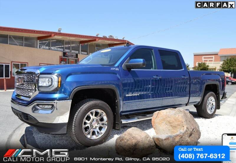 2016 GMC Sierra 1500 for sale at Cali Motor Group in Gilroy CA