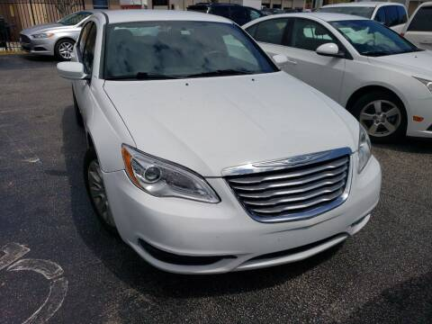 2013 Chrysler 200 for sale at KK Car Co Inc in Lake Worth FL
