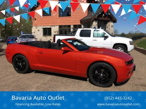 2012 Chevrolet Camaro for sale at Bavaria Auto Outlet in Victoria MN