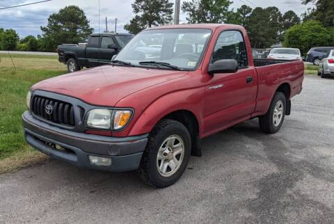 2002 Toyota Tacoma for sale at Hal's Auto Sales in Suffolk VA