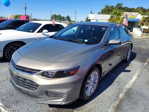 2018 Chevrolet Malibu for sale at Sun Coast City Auto Sales in Mobile AL