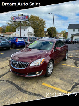 2016 Buick Regal for sale at Dream Auto Sales in South Milwaukee WI