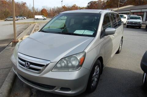 2006 Honda Odyssey for sale at Modern Motors - Thomasville INC in Thomasville NC