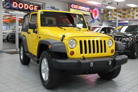2011 Jeep Wrangler for sale at Windy City Motors in Chicago IL