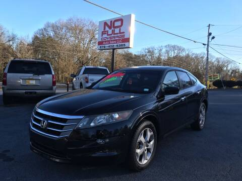 2010 Honda Accord Crosstour for sale at No Full Coverage Auto Sales in Austell GA