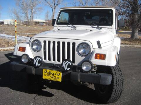 1998 Jeep Wrangler for sale at Pollard Brothers Motors in Montrose CO