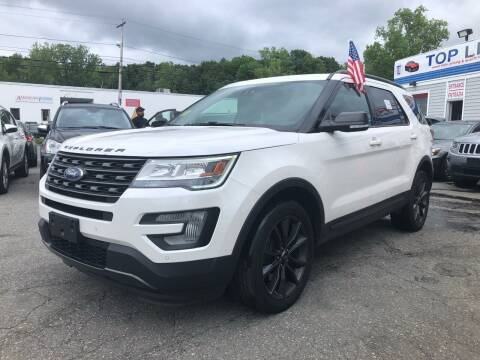 2017 Ford Explorer for sale at Top Line Import of Methuen in Methuen MA