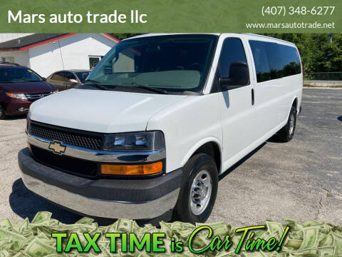 2017 Chevrolet Express Passenger for sale at Mars auto trade llc in Kissimmee FL