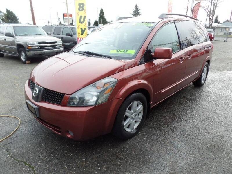 2004 Nissan Quest for sale at Gold Key Motors in Centralia WA