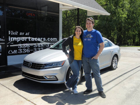 2018 Volkswagen Passat for sale at importacar in Madison NC