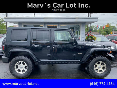 2009 Jeep Wrangler Unlimited for sale at Marv`s Car Lot Inc. in Zeeland MI