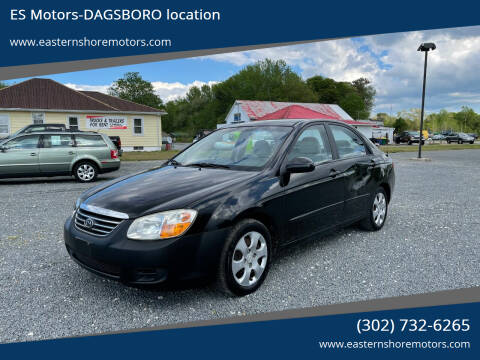 2008 Kia Spectra for sale at ES Motors-DAGSBORO location in Dagsboro DE